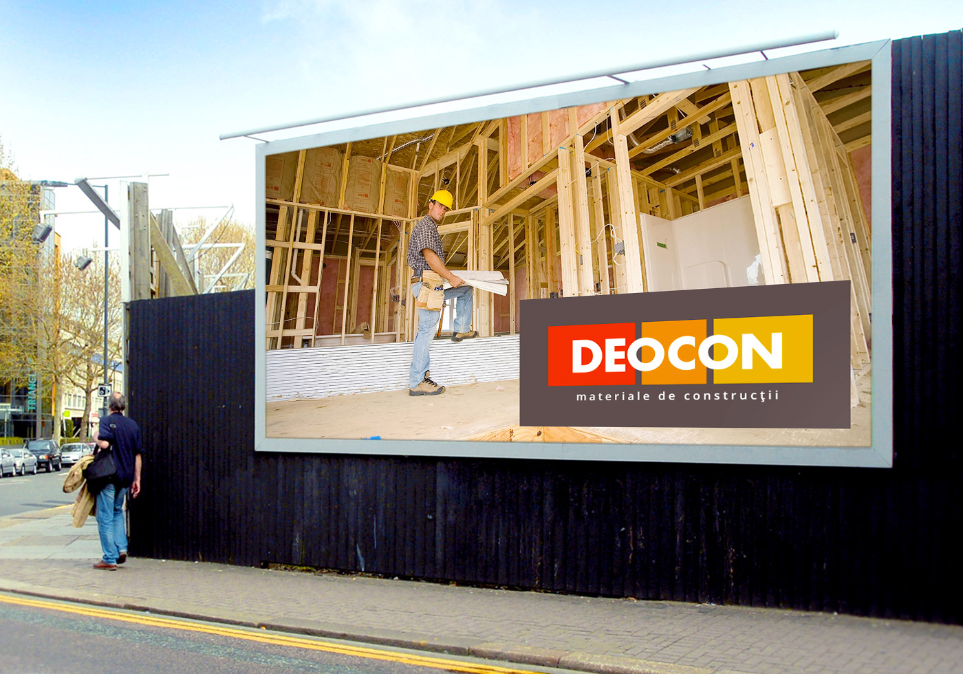 Decon billboard design