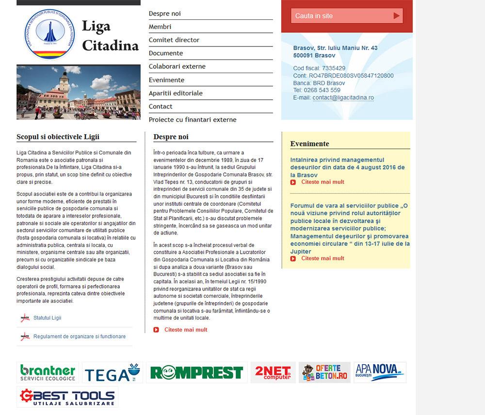 Liga citadina presentation site
